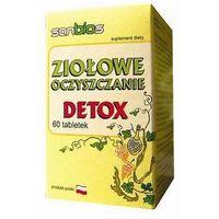 Detox i oczyszanie organizmu, Ziołowe oczyszczanie DETOX 60 tabl.