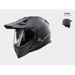 Kask motocyklowy cross enduro mx436 pioneer matt titanium marki Ls2