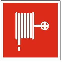 Znak Hydrant wewnętrzny 200x200 PF