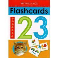 Książki do nauki języka, Karty obrazkowe do nauki liczenia po angielsku / Fiszki do angielskiego