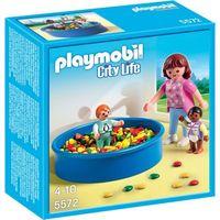 Klocki dla dzieci, Playmobil CITY LIFE Basen z piłeczkami 5572