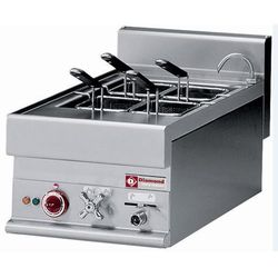 Urządzenie elektryczne do makaronu nastolne | 20L | 6000W | 400x650x(H)280/380mm