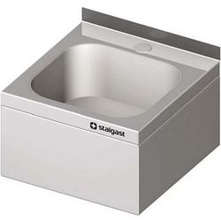 Umywalka zabudowana STALGAST 400x410x240mm 981424240