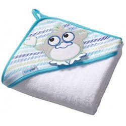 Ręcznik, okrycie kąpielowe frotte BabyOno Ptaszek 100x100cm