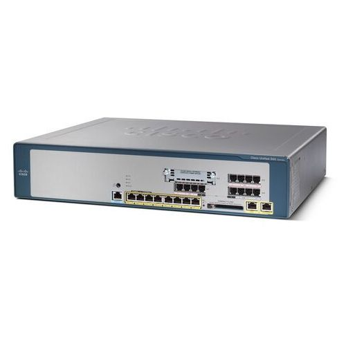 Pozostały sprzęt sieciowy, CISCO UC520-16U-4FXO-K9 16U CME Base CUE and Phone FL w/4FXO 1VIC