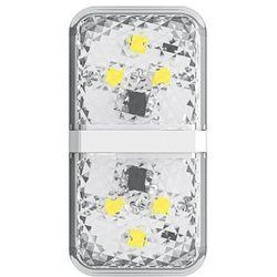 Baseus zestaw 2x ostrzegawcza lampka LED do drzwi samochodu biały (CRFZD-02) - Biały