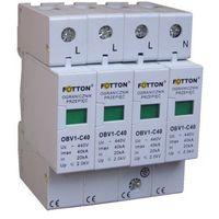 Baterie słoneczne, Ogranicznik przepięć FOTTON OBV1-C/4 20/40kA klasa C