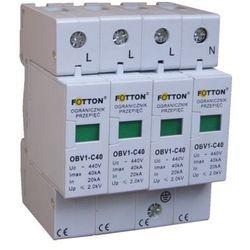 Ogranicznik przepięć FOTTON OBV1-C/4 20/40kA klasa C