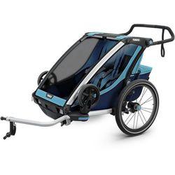 Thule Chariot Cross 2 Przyczepka rowerowa, thule blue/poseidon 2019 Przyczepki dla dzieci