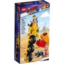 70823 TRÓJKOŁOWIEC EMMETA (Emmet's Thricycle!) KLOCKI LEGO MOVIE 2 wyprzedaż