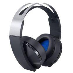 Słuchawki SONY Platinum Wireless Headset PS4 Czarno-srebrny DARMOWY TRANSPORT