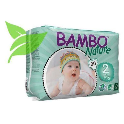 Pieluchy jednorazowe, BAMBO Nature Mini (3-6kg) 30 szt. - pieluszki jednorazowe