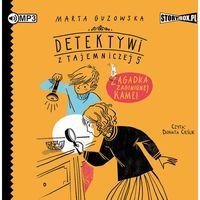 Literatura młodzieżowa, CD mp3 zagadka zaginionej kamei detektywi z tajemniczej 5 tom 1 (opr. miękka)