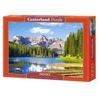 Puzzle, 3000 elementów, Jezioro Misurina, Italia