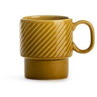 Filiżanki, Sagaform - Coffee - filiżanka do kawy 0,25 l, żółta - żółty