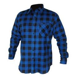 Koszula flanelowa L niebieska LUX
