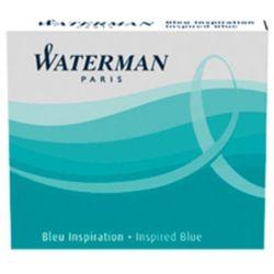 Naboje atramentowe Waterman International 6szt. jasnoniebieskie
