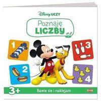 Książki dla dzieci, Disney uczy Miki Raźni Rajdowcy Poznaję liczby - Praca zbiorowa (opr. broszurowa)
