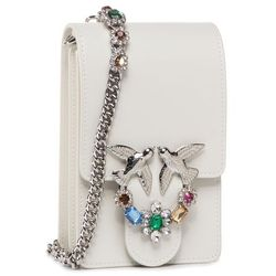 Torebka PINKO - Love Smart Jewels C. PE 20 PLTT 1P21M5 Y5FF White I09