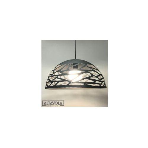 Lampy sufitowe, Lampa wisząca Shadows 2 szara