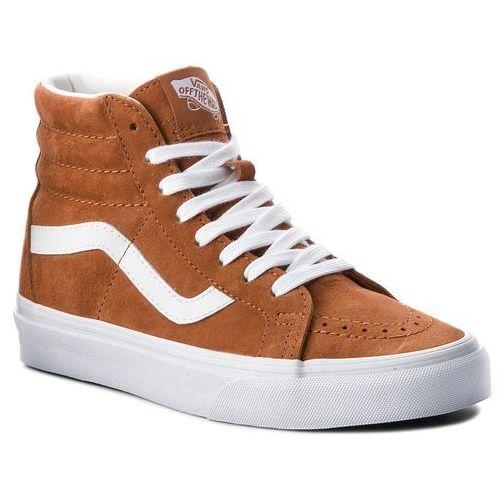 Pozostały skating, Sneakersy VANS - Sk8-Hi Reissue VN0A2XSBU5K (Pig Suede) Leather Brown