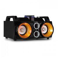 """Rejestratory i odtwarzacze audio, Fenton MDJ100 Odtwarzacz multimedialny USB SD BT AUXwzmacniacz 100W 2 x głośnik 4""""RGB-LED"""