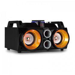 """MDJ100 Odtwarzacz multimedialny USB SD BT AUXwzmacniacz 100W 2 x głośnik 4""""RGB-LED"""