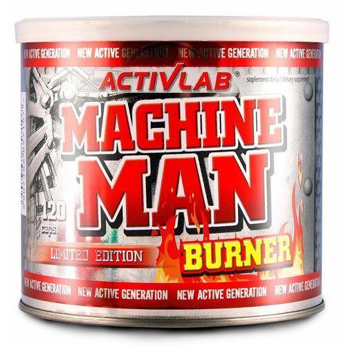 Redukcja tkanki tłuszczowej, Activlab Machine Man Burner - 120 kaps.