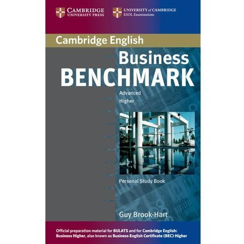 Książki do nauki języka, Business Benchmark, Advanced Higher, Personal Study Book, for BEC and BULATS (opr. miękka)