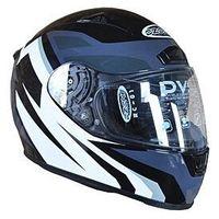 Kaski motocyklowe, KASK OZONE RC-01 BLACK/GREY/WHITE