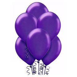 Balony lateksowe duże - 12 cali - fioletowe - 100 szt.