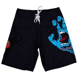 strój kąpielowy SANTA CRUZ - Screaming Hand Board Black (BLACK) rozmiar: 34