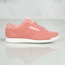 Reebok Classic PRINCESS WOVEN EMB Tenisówki i Trampki sweet pink/chalk