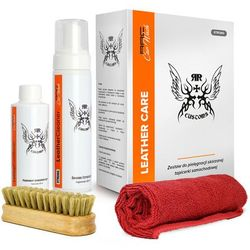 Zestaw RRC Car Wash Leather Cleaner Strong Box - Zestaw do czyszczenia skóry
