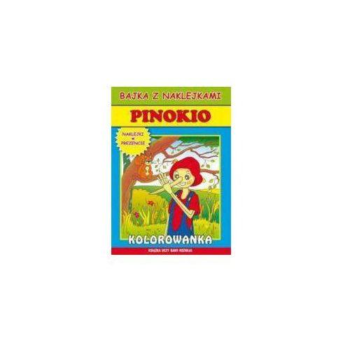 Książki dla dzieci, Pinokio - Krystian Pruchnicki (opr. miękka)