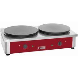 Naleśnikarka elektryczna | 2 płyty | ø 400mm | 7200W | 860x500x(H)240mm