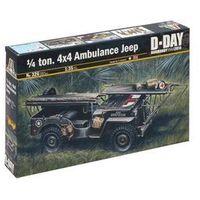 Pozostałe zabawki, 1/4 ton 4 x4 Ambulance Jeep