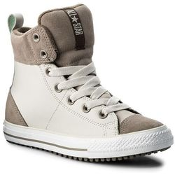 Trzewiki CONVERSE - Ctas Asphalt Boot Hi 658068C Pale Putty/Malted/Engine Smoke
