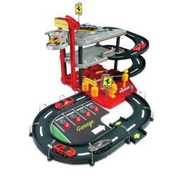 BBurago Ferrari Parking, Garaż + 4 autka
