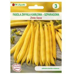 Fasola zwykła karłowa ZŁOTA SAXA nasiona tradycyjne 35 g W. LEGUTKO
