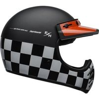 Kaski motocyklowe, BELL KASK OFF-ROAD FASTHOUSE CHECKERS BLACK/WHI/R