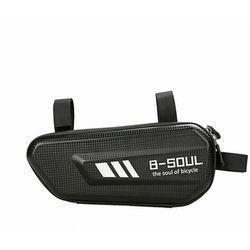 B-Soul torba rowerowa na ramę roweru 1,5 L czarny (YA301)