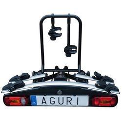 Aguri Active Bike 2 Bagażnik rowerowy na hak do przewozu 2 rowerów - 2 \ Srebrny