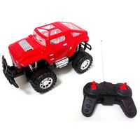 Pozostałe samochody i pojazdy dla dzieci, JEEP STEROWANY na Radio S-Track Czerwony