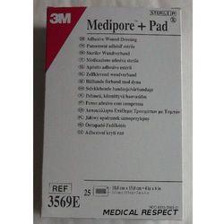 Medipore + Pad 10cmx15cm Opatrunek jałowy a 25szt.