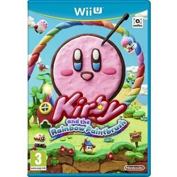 Kirby and Rainbow Paint Brush (Wii U)