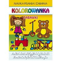 Kolorowanki, Kolorowanka Zabawki - Guzowska Beata, Kubera Joanna