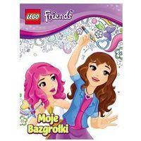 Książki dla dzieci, Lego Friends Moje bazgrolki 2 (opr. miękka)