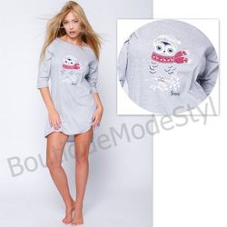 SENSIS Koszulka nocna Snowy Owl
