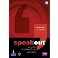 Książki do nauki języka, Speakout elementary flexi course book 1 with ActiveBook and Workbook audio CD (opr. miękka)